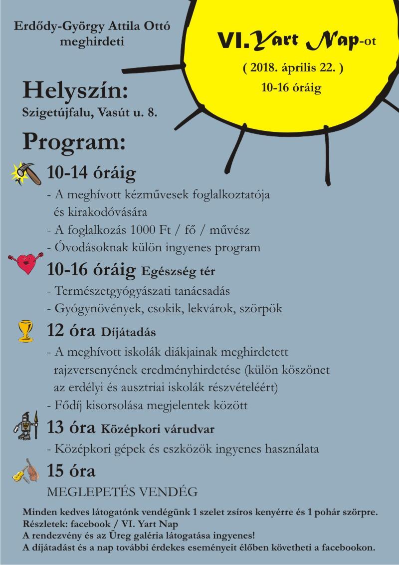 Yart nap plakát (VI)